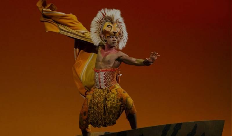 musicales londres con niños rey león