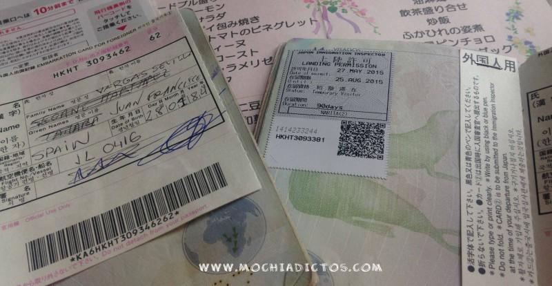 pasaporte Japon