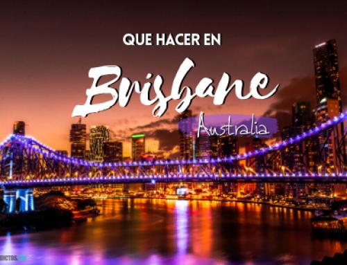 Que hacer en Brisbane [con mapa] ¡Mi experiencia y consejos!