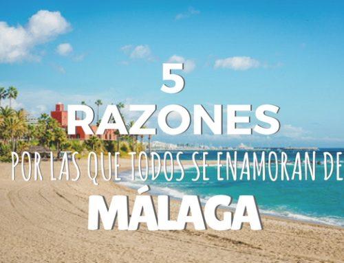 5 razones por las que todo el mundo se enamora de Málaga en cuanto pone un pie en ella