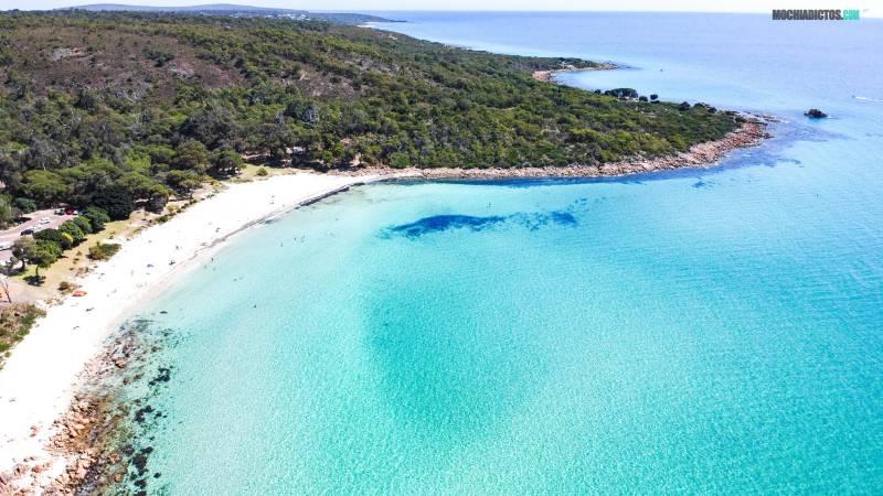 que ver en Western Australia, Meel Up Beach