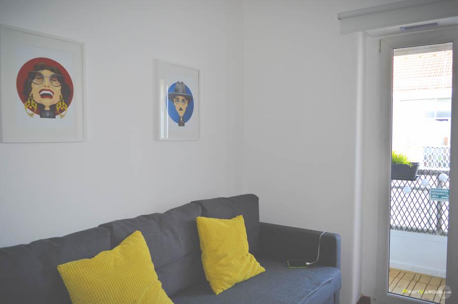 Nuestro apartamento en Lisboa