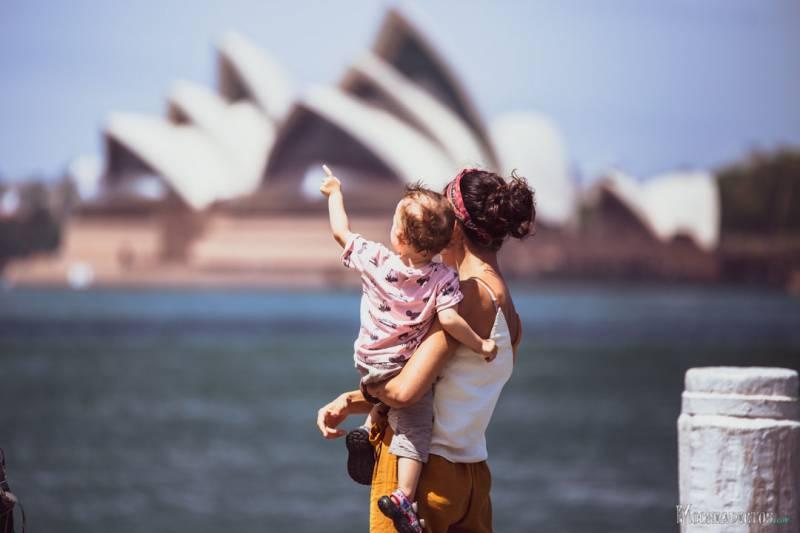 Viajar a Australia en enero con nilños