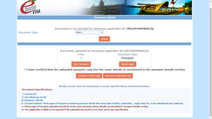 visado-india-online